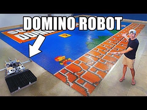This Domino Robot Broke a World Record!