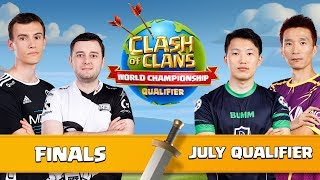 World Championship - July Qualifier - FINALS - Clash of Clans