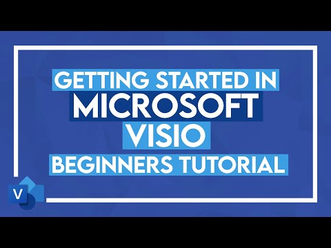Microsoft Visio Tutorial for Beginners - How to use Visio 2016 ...
