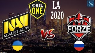 МАТЧ ДНЯ! | Na`Vi vs forZe (BO2) ESL One Los Angeles 2020