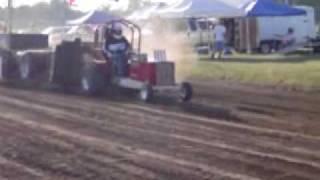 Troublemaker garden tractor pull - Hoyt, KS