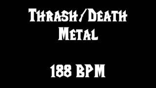 Thrash Metal / Death Metal (188 BPM) Free Drum Track