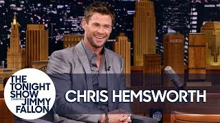 Download Youtube: Chris Hemsworth's Toddler Son Scaled a Fridge to Reach Candy