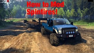 How to install mods on spintires