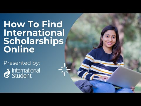 How to Find International Scholarships Online