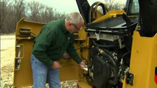 Skid Steer Loader Daily Oil Check
