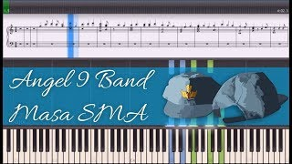 Angel 9 Band - Masa SMA (Instrumental Piano Tutorial)