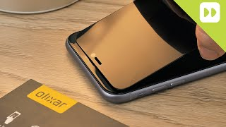 Olixar iPhone 11 Privacy Tempered Glass Screen Protector Review