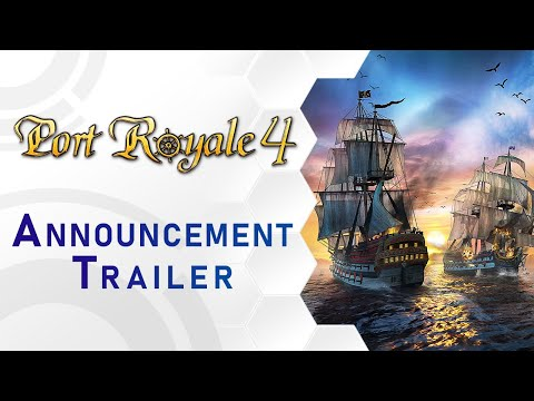 Port Royale 4 - Announcement Trailer (US)