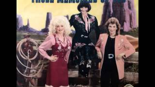 Those Memories Of You , Dolly Parton , Linda Ronstadt , Emmylou Harris , 1987 Vinyl 45RPM
