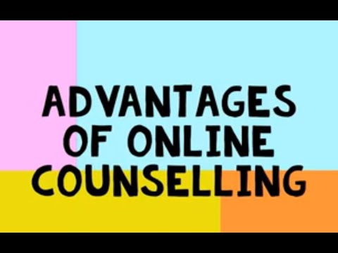 In this video, I talk about the advantages on online counselling