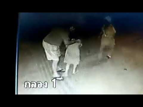 Pedophile in Thailand Caught on CCTV