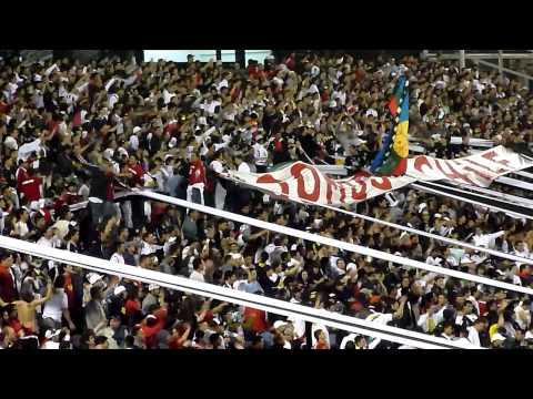 """""""COLO COLO (3) VS SAN LUIS (1) / YA ME VOY PARA LA CANCHA (TORNEO NACIONAL 2010)"""" Barra: Garra Blanca • Club: Colo-Colo"""
