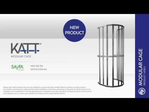 Sayfa Group Katt modular cage product video
