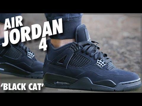Air Jordan 4 'Black Cat'
