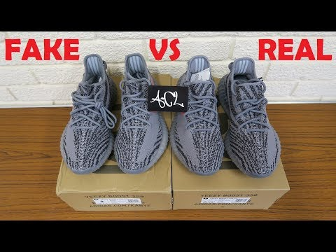 5be3fde3286 HOW TO SPOT FAKE YEEZY BELUGA 2.0 Real vs Replica Yeezy boost 350 v2 ...