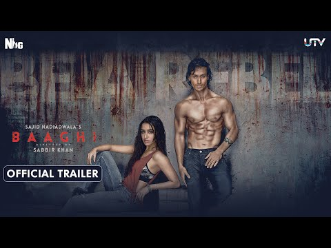 Baaghi Official Trailer | Tiger Shroff & Shraddha Kapoor