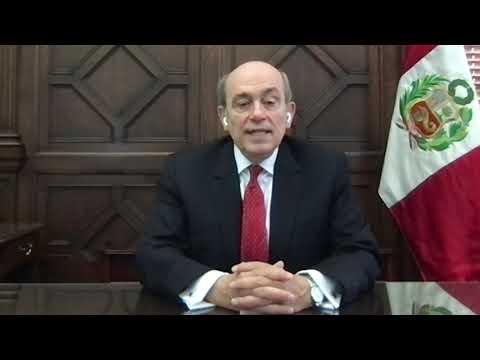 Mensaje del embajador Hugo de Zela a la comunidad peruana   Elecciones Generales 2021   Segunda Vuelta