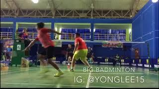 Unbelievable Super Fat Amazing Skill Badminton