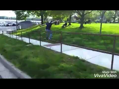 Skateboarding in Havre de Grace