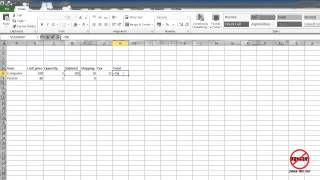 Excel: How to Create Formulas – Calculations