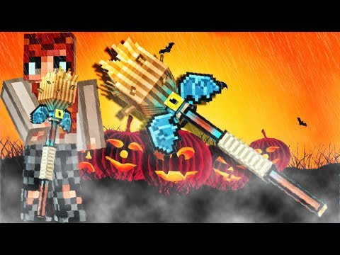 Pixel Gun 3D - Witch Broom Gameplay Most Haos Special Weapon