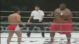 MMA Fighter 600lbs Sumo Vs 169lbs MMA UFC Fighter