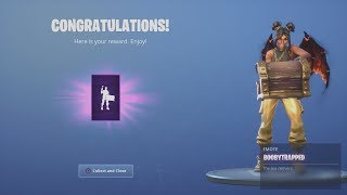 *UNLOCKING* FREE Fortnite NEW EPIC Emote Treasure Chest After Completing ALL Fortnite Challenges!