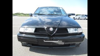 1997 Alfa Romeo 155 V6 Manual in black