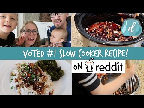 Video #1 Crock Pot Recipe according to Reddit! ❤️ Honey Garlic Chicken