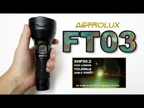 Astrolux FT03 XHP50.2 review