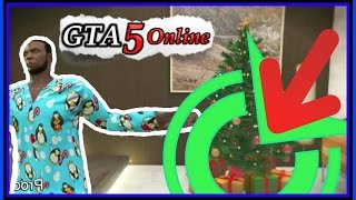 GTA 5 Gifts Under Christmas Trees (Holiday Gifts From Rockstar) RECIEVED!