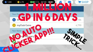 HOW To Earn 1 Million GP In 6 Days On Pes 2020