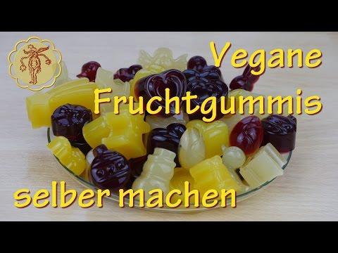 Vegane Fruchtgummis selber machen - mit Agar Agar
