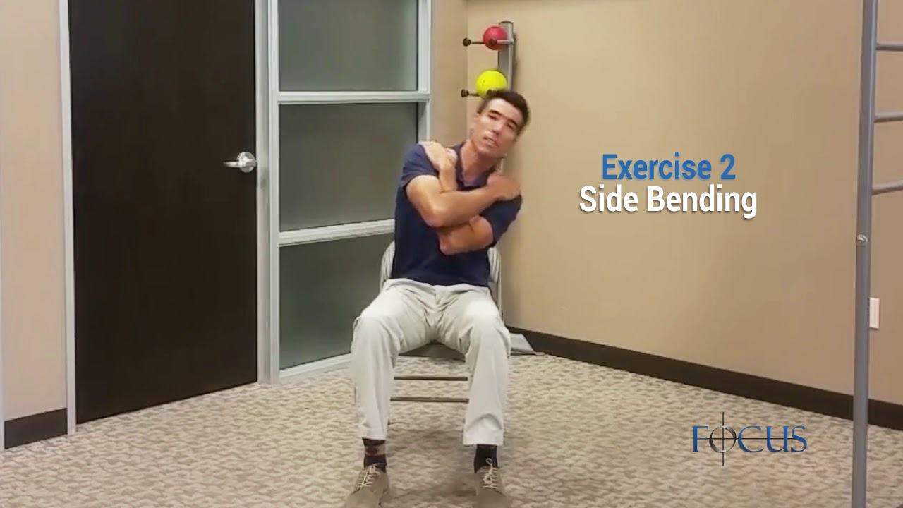 Top Three Exercises For Neck Pain
