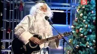 "Узбекский Дед Мороз. Песня ""Постой паровоз"" на узб.яз"