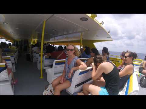 Boat trip to Cozumel – Mexico