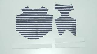 How To Make A Dog Basic Tank-top And T-shirt Sewing Movie 02 [hand Made Dog Clothes]