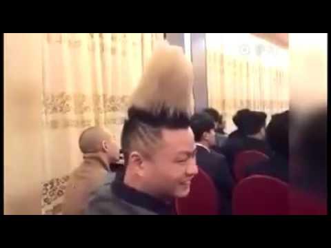 哥的頭髮怎麼了?
