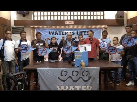 [Inquirer]  Group decries privatization of local water districts