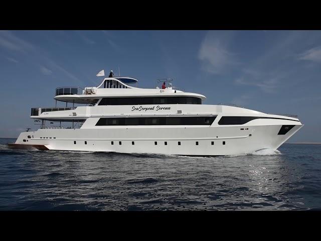 M/Y Sea Serpent Serena Video