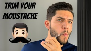 How To Trim Your Moustache Tutorial 2020