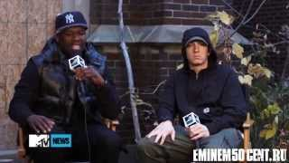 50 Cent & Eminem Interview 'My Life' MTV