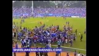 DERBY BERDARAH AREMA VS PERSEMA DI STADION GAJAYANA MALANG 9