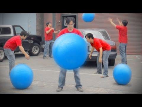 FreddieW: Modré míče