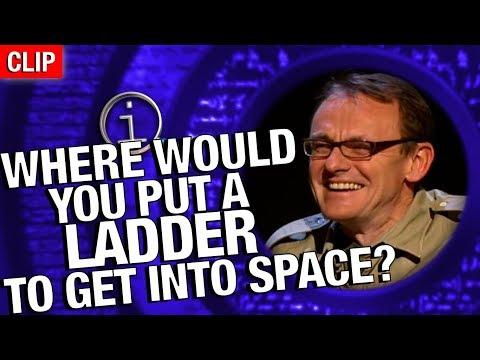 QI: Kam byste umístili žebřík, pokud se chcete dostat do vesmíru?