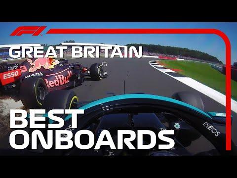ハミルトンがフェルスタッペンに当てたシーンも含めたベストオンボード映像 F1第10戦イギリスGP(シルバーストン)