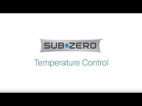 Sub-Zero Built In American Style Refrigeration ICB648PROG - Glass Door Video 1