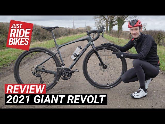 Видео Велосипед Giant Revolt Advanced Pro 0 (Cosmos Navy)