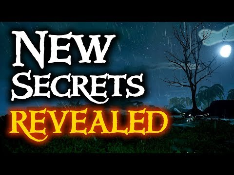NEW SECRETS REVEALED // SEA OF THIEVES - New lore, and Tall Tales.